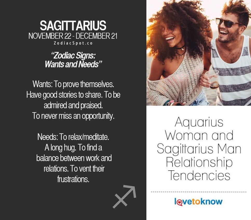 Sagittarius say a what to man to How do